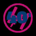 40 bapteme